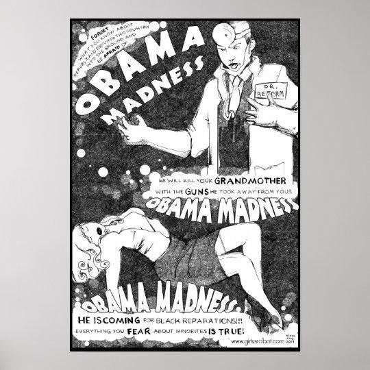 Obama Madness Poster