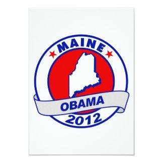 Obama - Maine 5x7 Paper Invitation Card