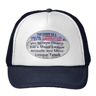 obama major league contract minor league talent trucker hats