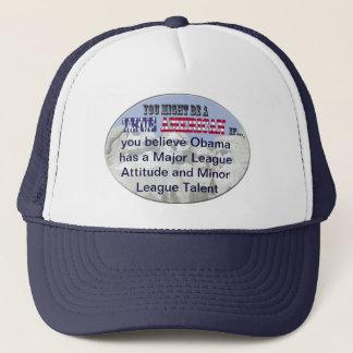 obama major league contract minor league talent trucker hat