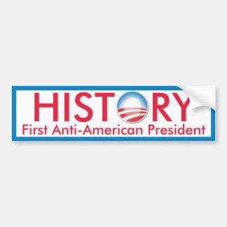 Obama Makes History Car Bumper Sticker