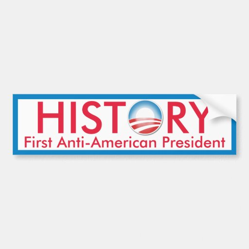 Obama Makes History Bumper Sticker
