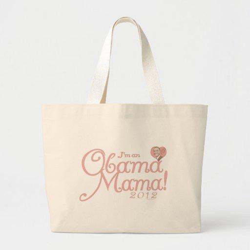 Obama Mama 2012 Gear Jumbo Tote Bag
