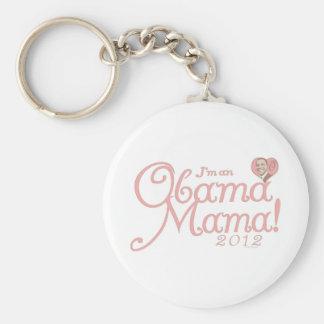 Obama Mama 2012 Gear Keychain