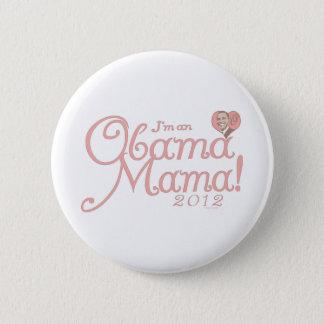 Obama Mama 2012 Gear Pinback Button