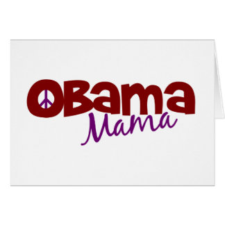 Obama Mama Card