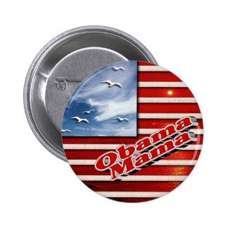 Obama Mama Cute Button