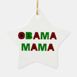 Obama Mama Holiday Ornament