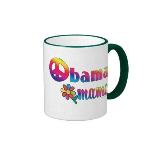 Obama Mama Ringer Coffee Mug