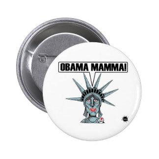 Obama Mamma Button