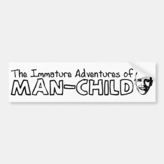 Obama Man-Child Car Bumper Sticker