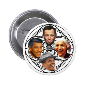 Obama Mandala Pin