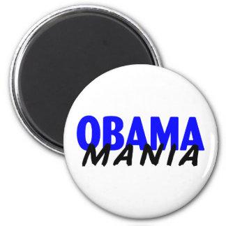 Obama Mania 2 Inch Round Magnet