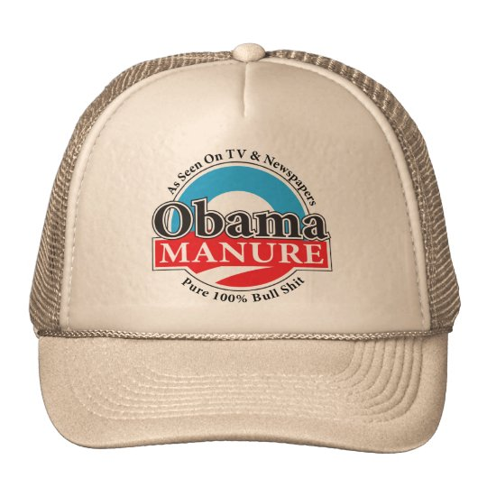 Obama Manure Truckers Hat