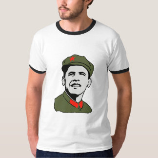 Obama Mao Ringer T-Shirt
