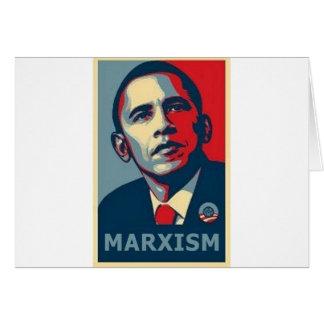 Obama Marxism Card
