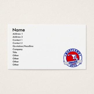 Obama - Maryland Business Card