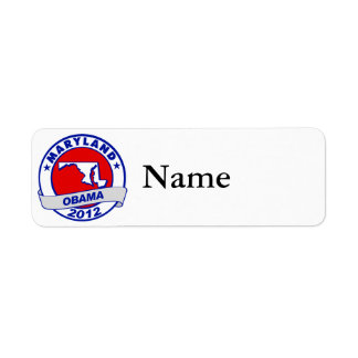 Obama - Maryland Label