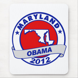 Obama - Maryland Mouse Pad