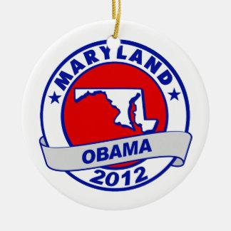 Obama - Maryland Ornament
