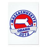 Obama - Massachusetts Invitación 12,7 X 17,8 Cm