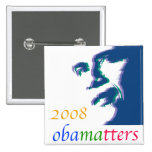 Obama matters buttons