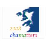 Obama matters postcard