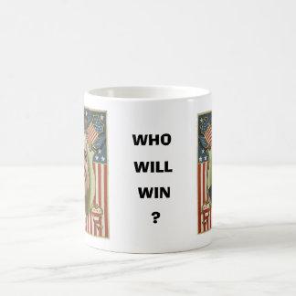 Obama / McCain Morphing Mug