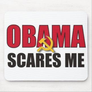 Obama me asusta alfombrillas de ratón