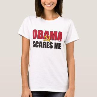 Obama me asusta - modificado para requisitos playera