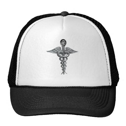obama medical staff trucker hat