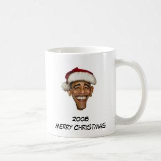 Obama Merry Christmas Coffee Mug