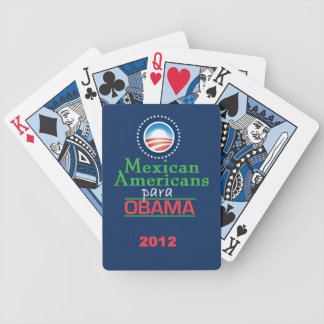 Obama MEXICAN AMERICANS Bicycle Playing Cards