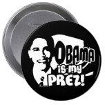 Obama mi botón de Prez Pin