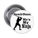 Obama mi Ninja Pin