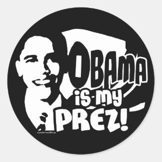 Obama mi pegatina de Prez