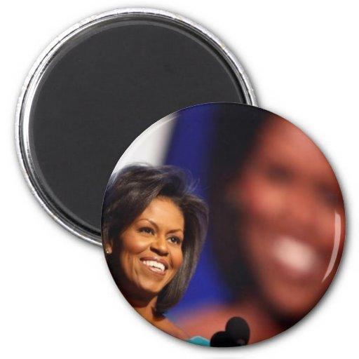 Obama-Michelle Iman De Frigorífico