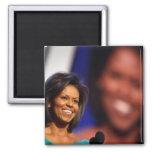 Obama-Michelle Imán Para Frigorífico
