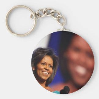 Obama-Michelle Keychain