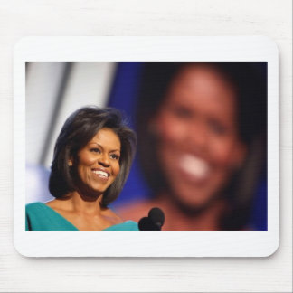 Obama-Michelle Mouse Pad