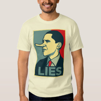 Obama miente camisa