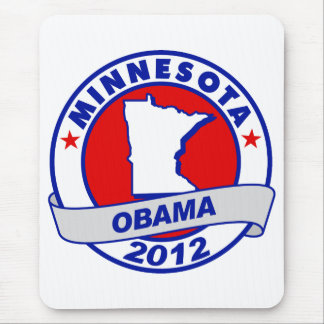 Obama - Minnesota Mouse Pad