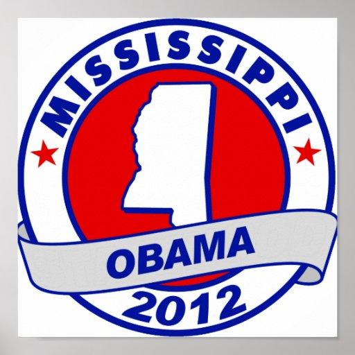 Obama - Mississippi Impresiones