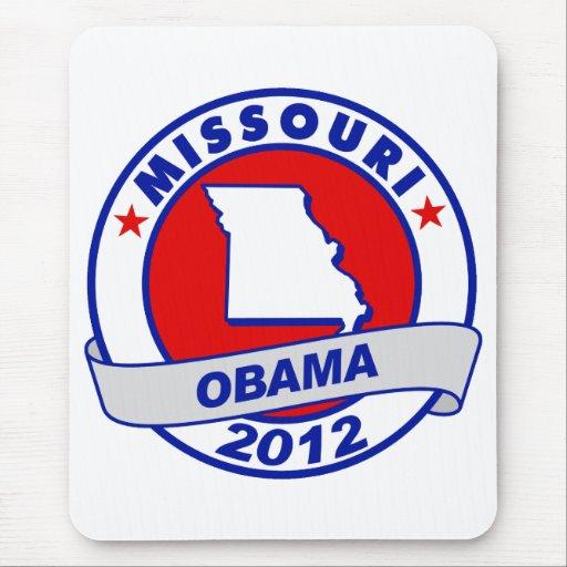 Obama - Missouri Alfombrilla De Raton