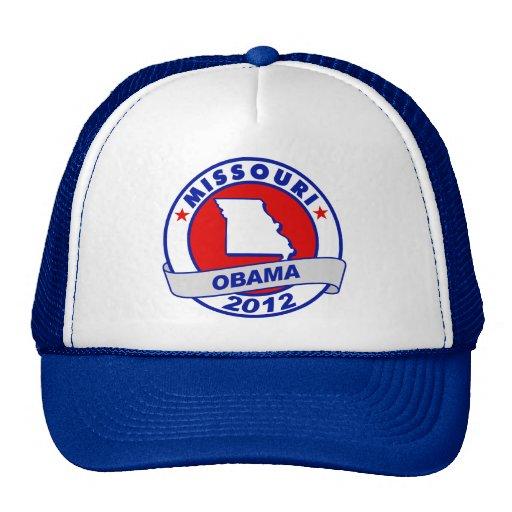 Obama - Missouri Hats