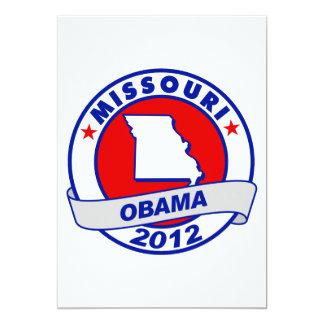 Obama - Missouri 5x7 Paper Invitation Card
