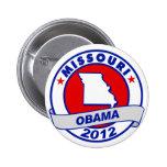 Obama - Missouri Pin Redondo 5 Cm
