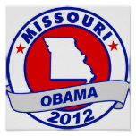 Obama - Missouri Poster