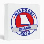 Obama - Missouri Vinyl Binders