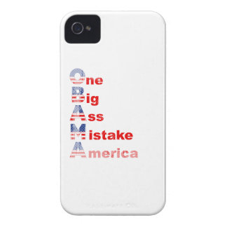 Obama mistake 2 Faded.png iPhone 4 Case